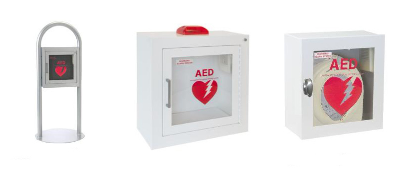 AED and Cabinets