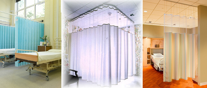 Hospital/Cubicle Track and Curtains